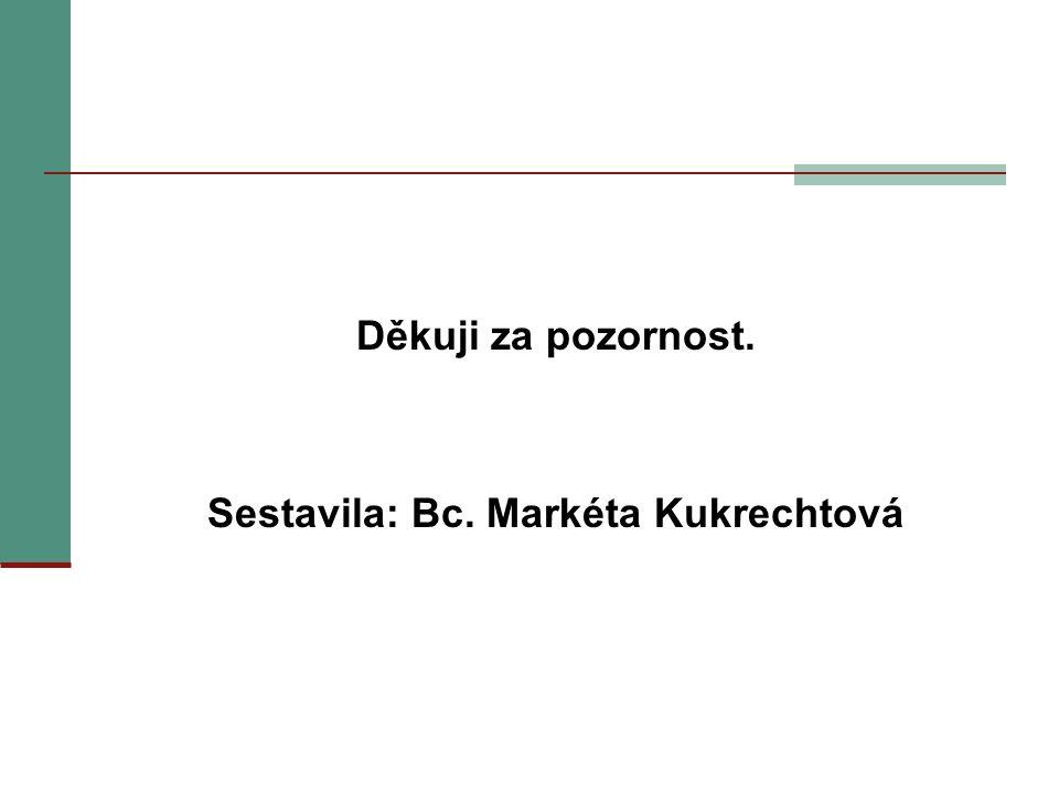 Sestavila: Bc. Markéta Kukrechtová