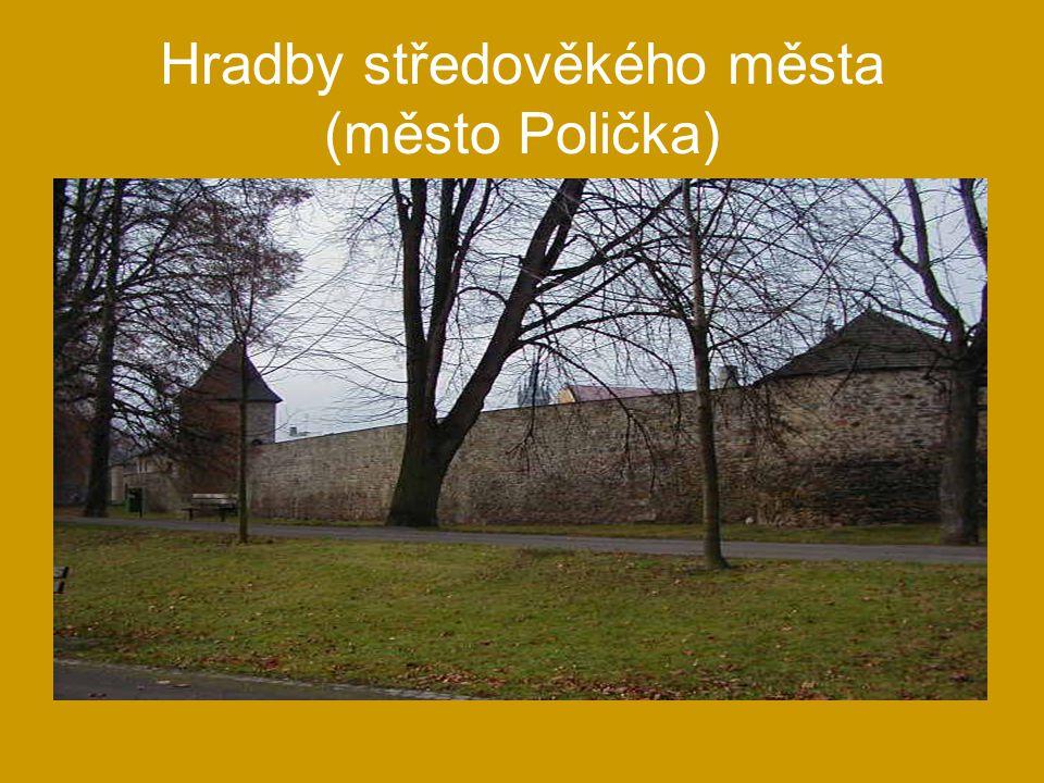 Hradby středověkého města (město Polička)