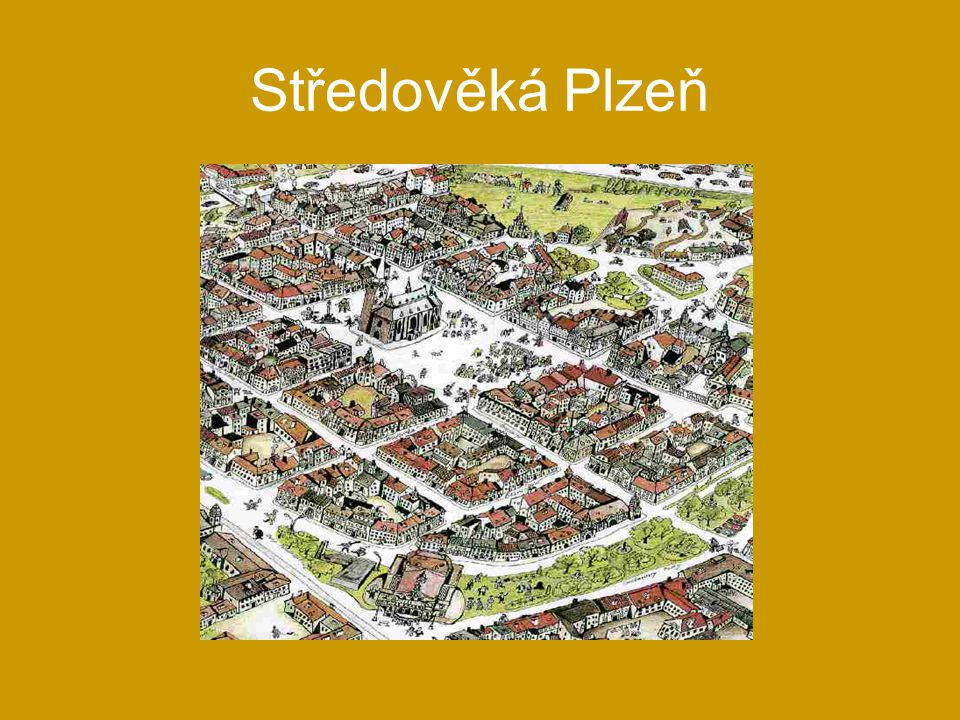 Středověká Plzeň