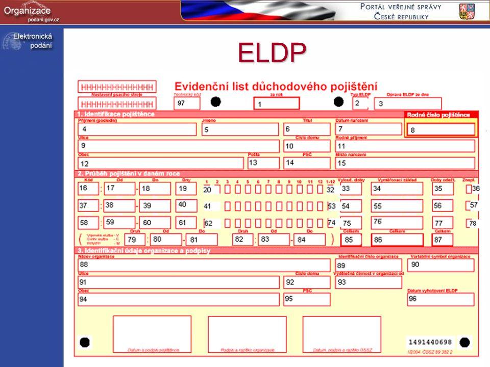 ELDP http://www.podani.gov.cz