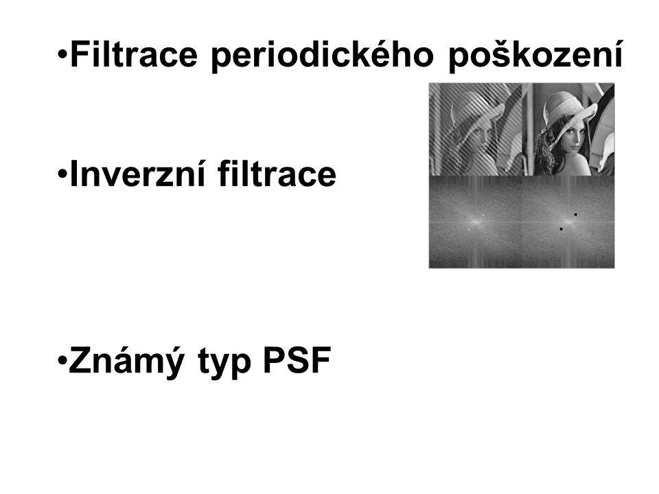 Filtrace periodického poškození