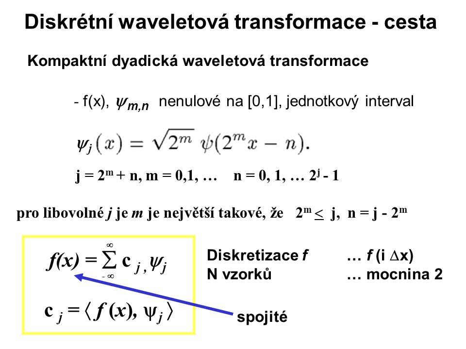 Diskrétní waveletová transformace - cesta