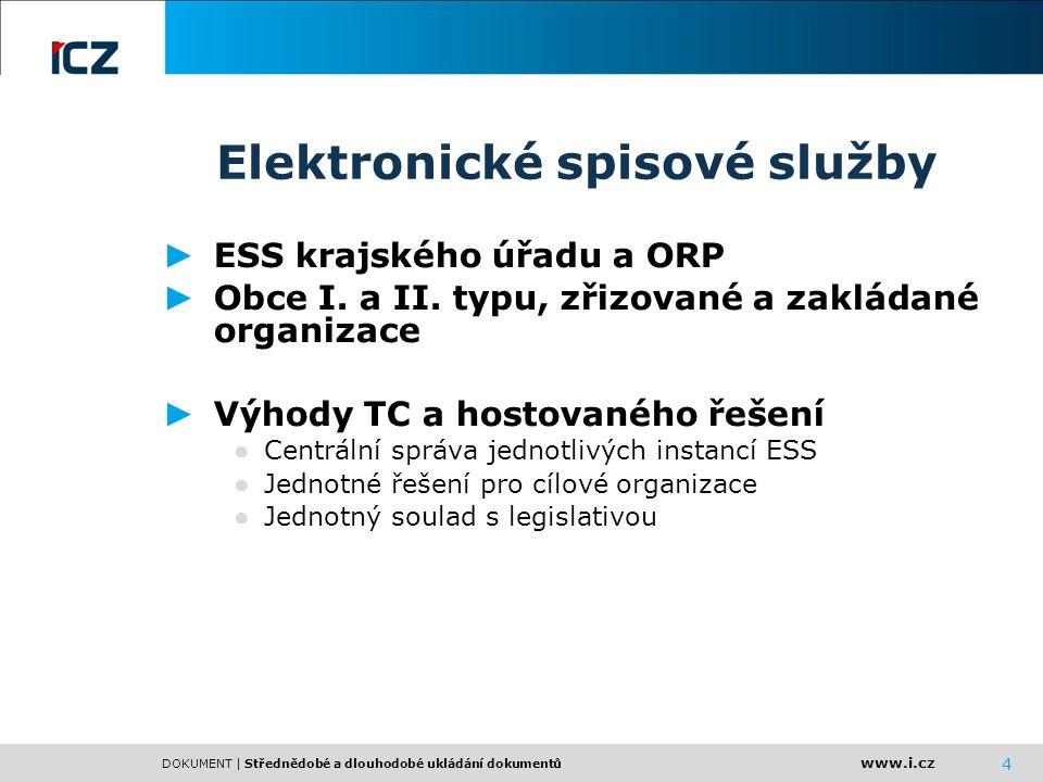 Elektronické spisové služby