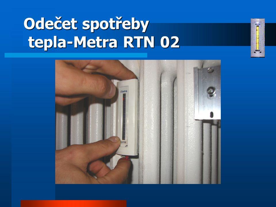 Odečet spotřeby tepla-Metra RTN 02