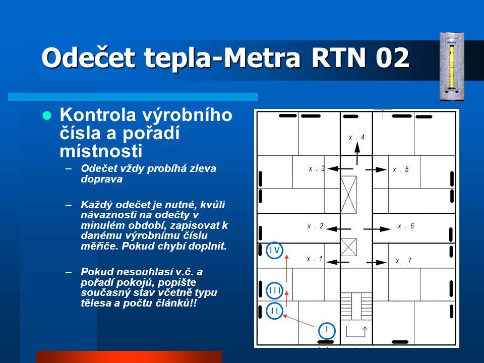 Odečet tepla-Metra RTN 02