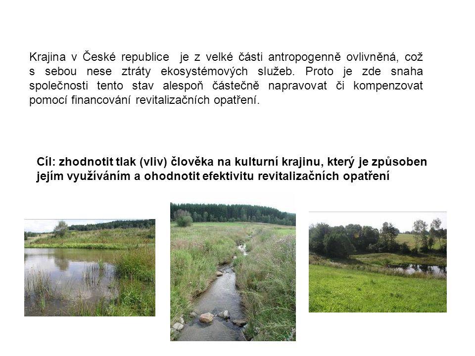 Krajina v České republice je z velké části antropogenně ovlivněná, což s sebou nese ztráty ekosystémových služeb. Proto je zde snaha společnosti tento stav alespoň částečně napravovat či kompenzovat pomocí financování revitalizačních opatření.