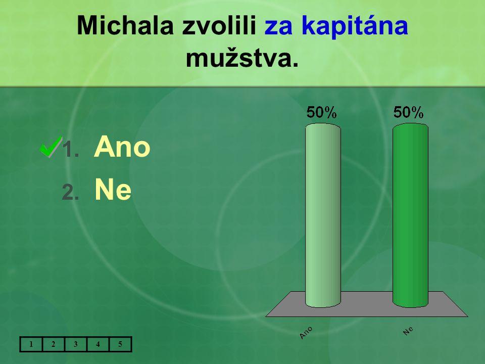 Michala zvolili za kapitána mužstva.