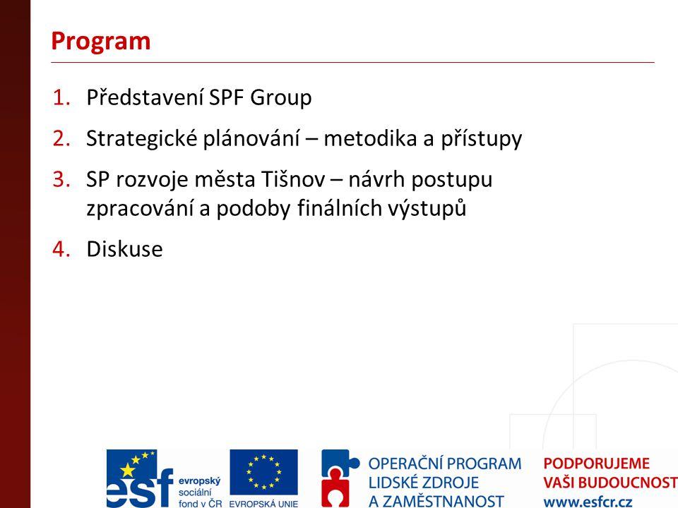 Program Představení SPF Group