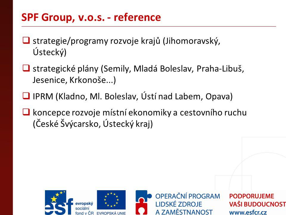SPF Group, v.o.s. - reference