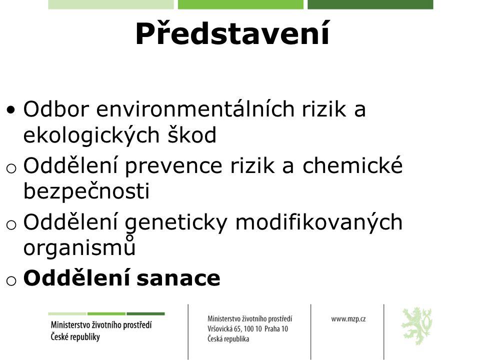Představení Odbor environmentálních rizik a ekologických škod