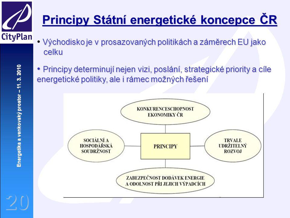 Principy Státní energetické koncepce ČR