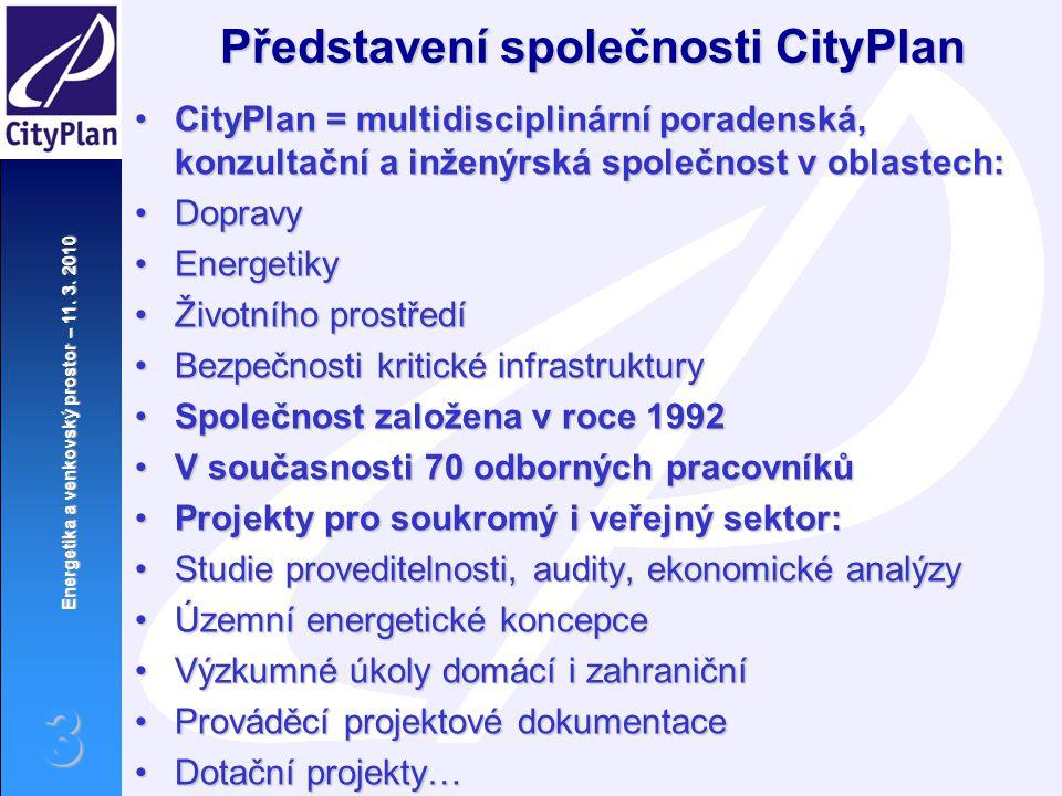 Představení společnosti CityPlan