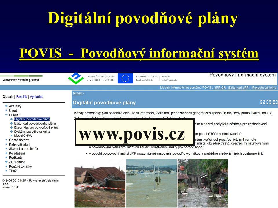 Digitální povodňové plány