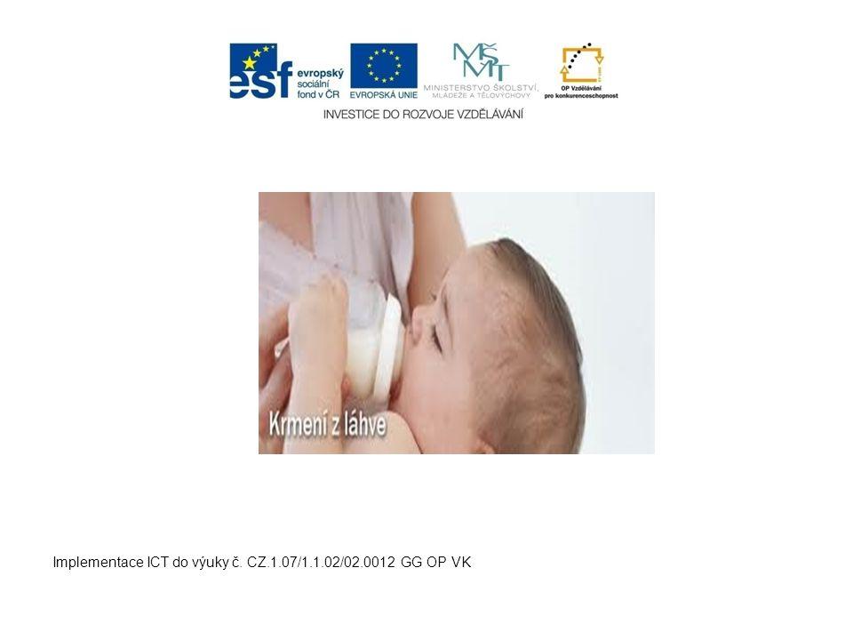 Implementace ICT do výuky č. CZ.1.07/1.1.02/02.0012 GG OP VK