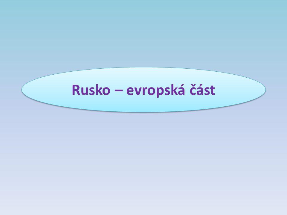 Rusko – evropská část