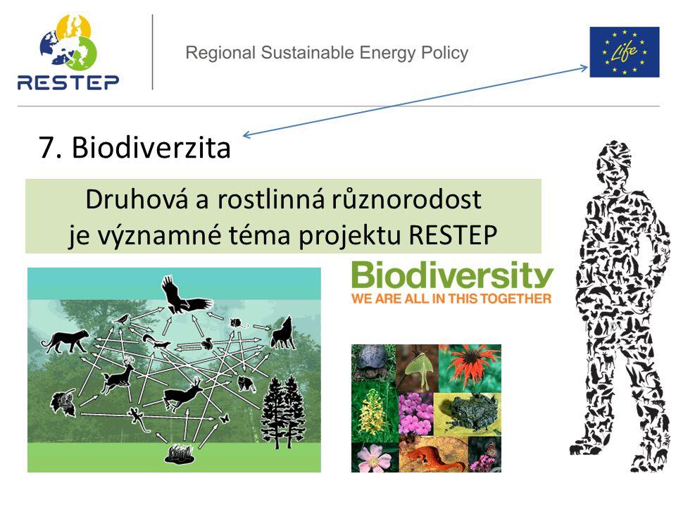 7. Biodiverzita Druhová a rostlinná různorodost