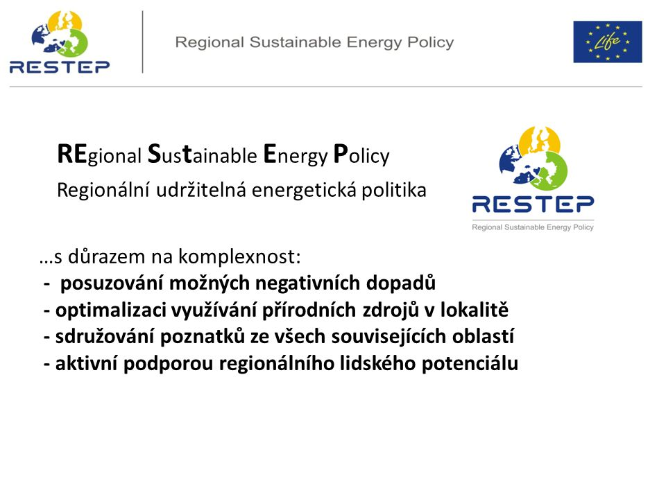 REgional Sustainable Energy Policy