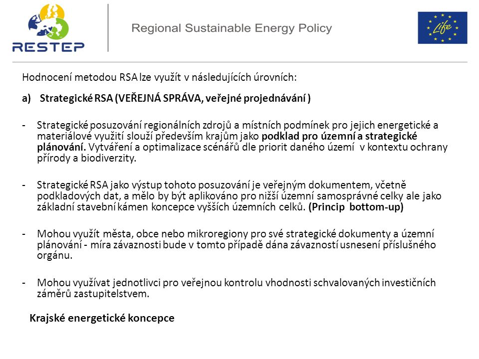 Krajské energetické koncepce