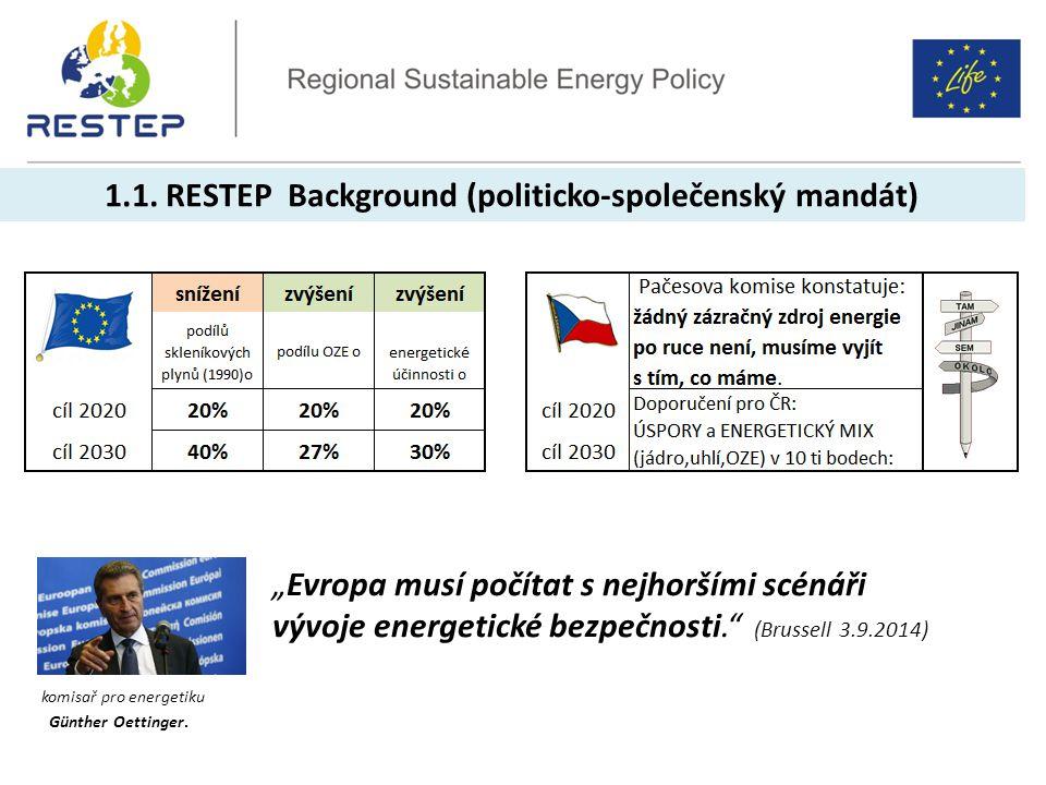 1.1. RESTEP Background (politicko-společenský mandát)