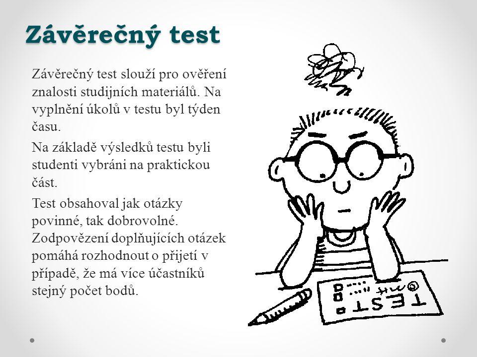 Závěrečný test