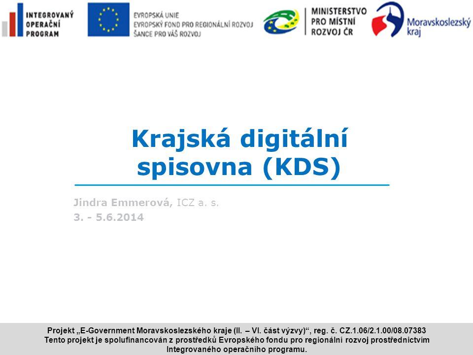 Krajská digitální spisovna (KDS)