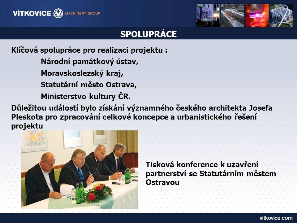 SPOLUPRÁCE Klíčová spolupráce pro realizaci projektu :