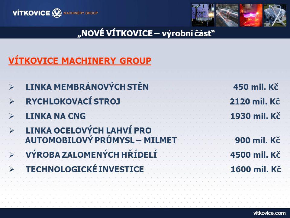 """""""NOVÉ VÍTKOVICE – výrobní část"""