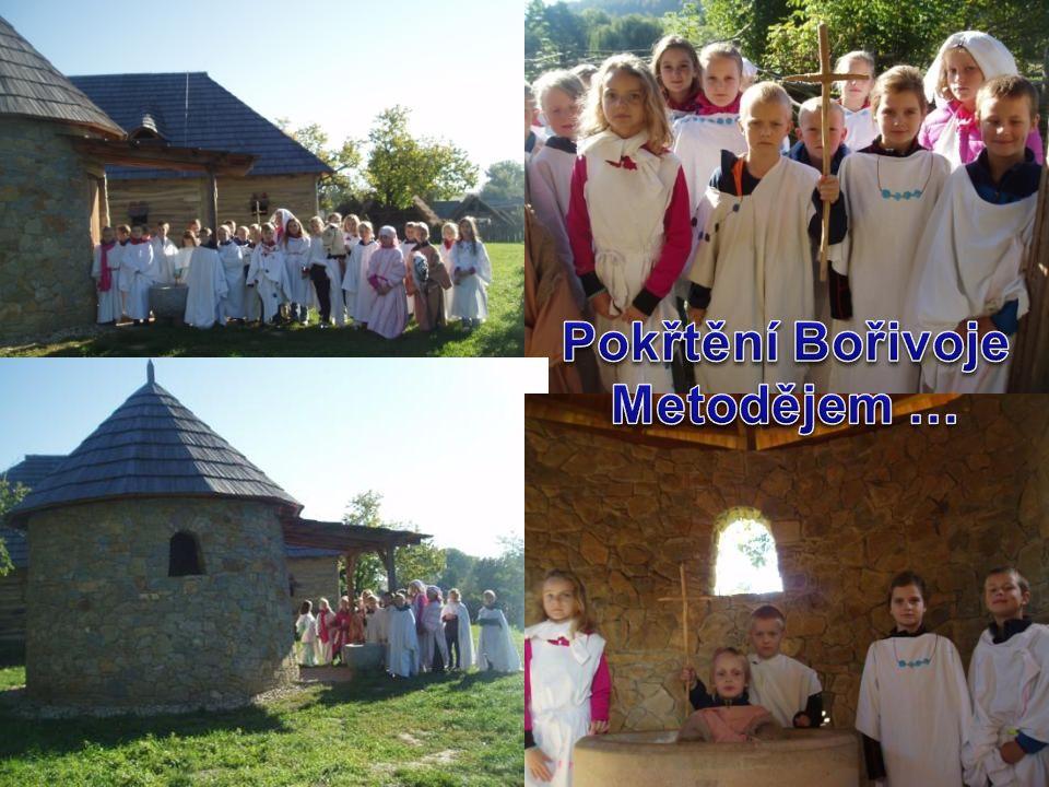 Pokřtění Bořivoje Metodějem …