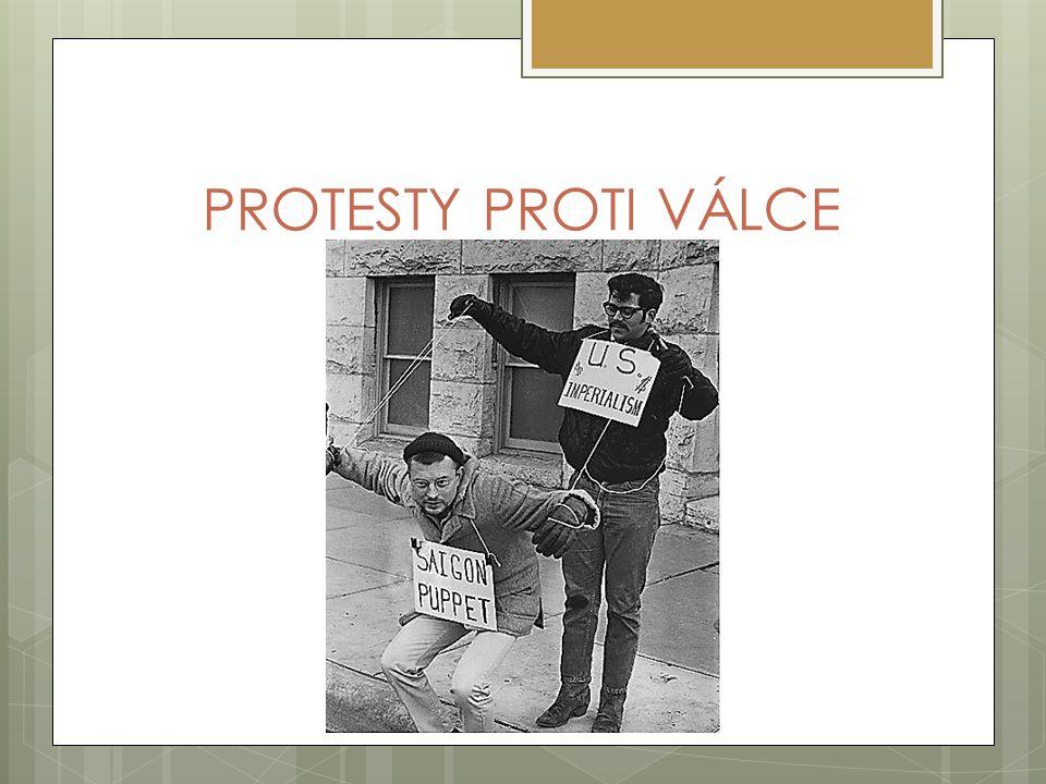 PROTESTY PROTI VÁLCE