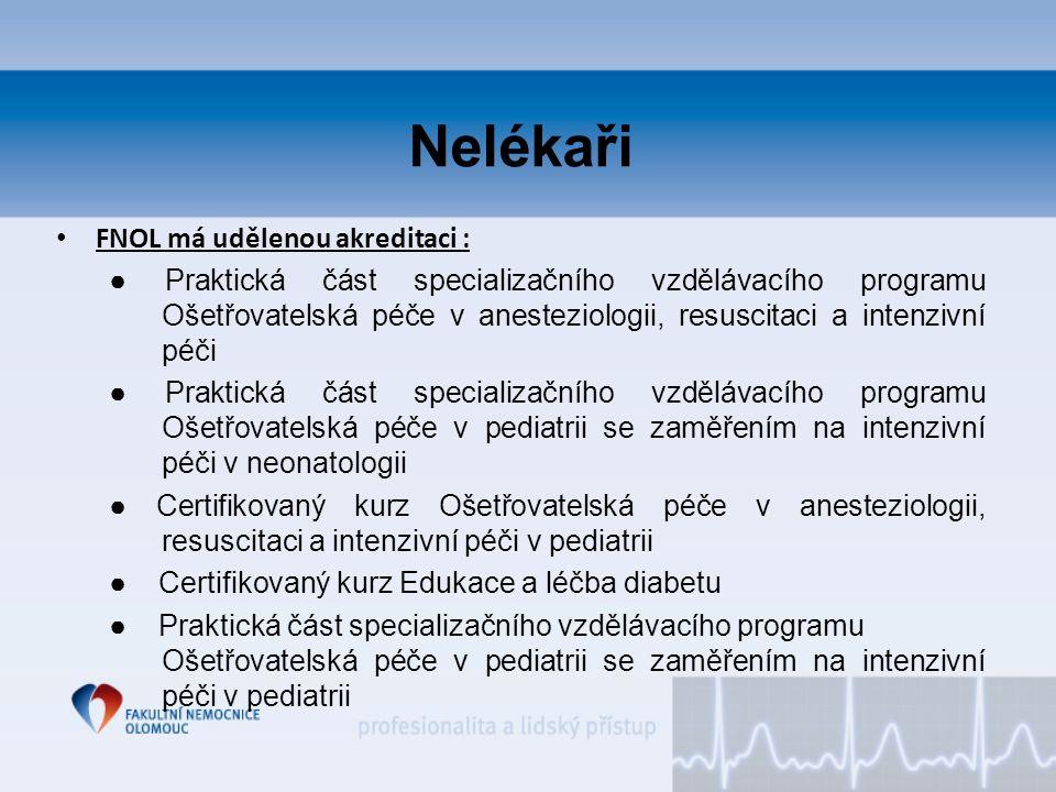 Nelékaři FNOL má udělenou akreditaci :