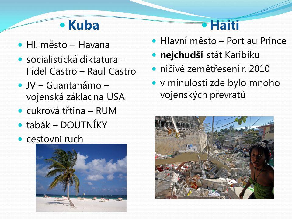Kuba Haiti Hl. město – Havana