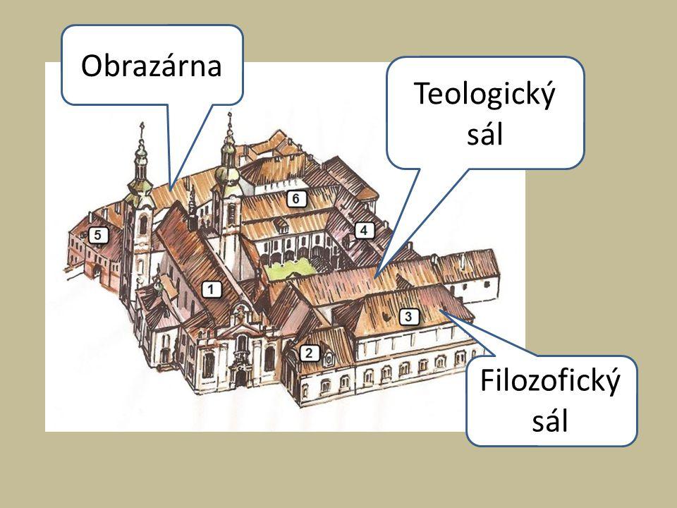 Obrazárna Teologický sál Filozofický sál