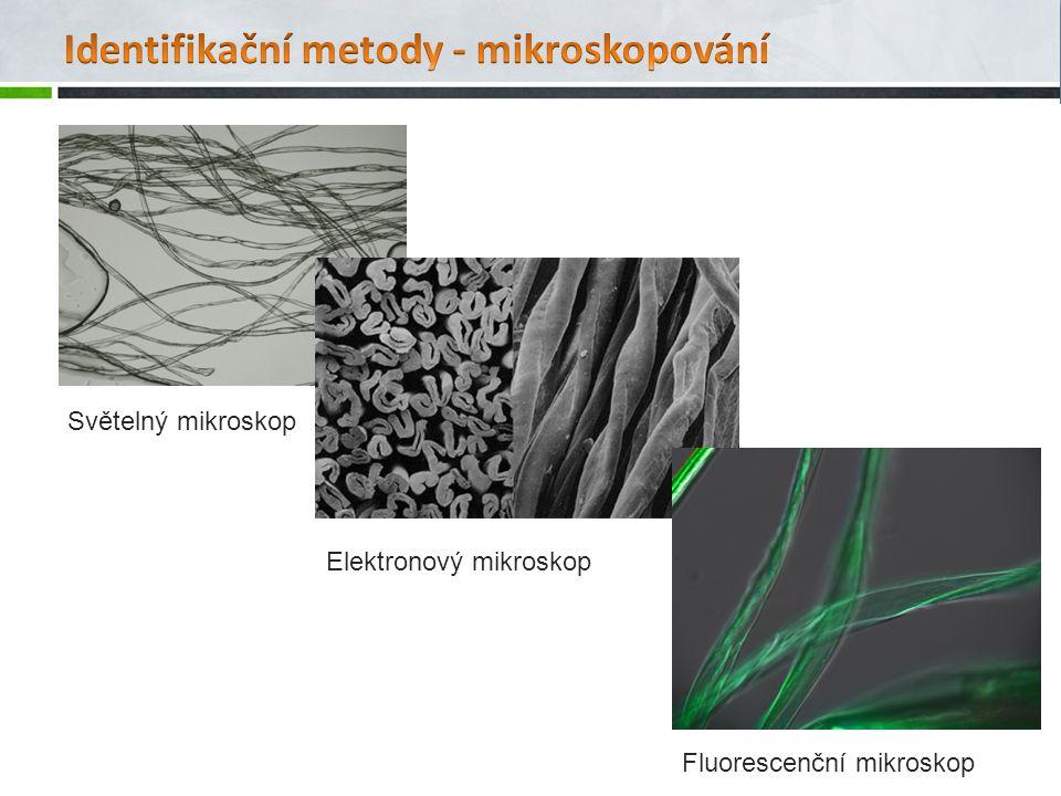 Identifikační metody - mikroskopování