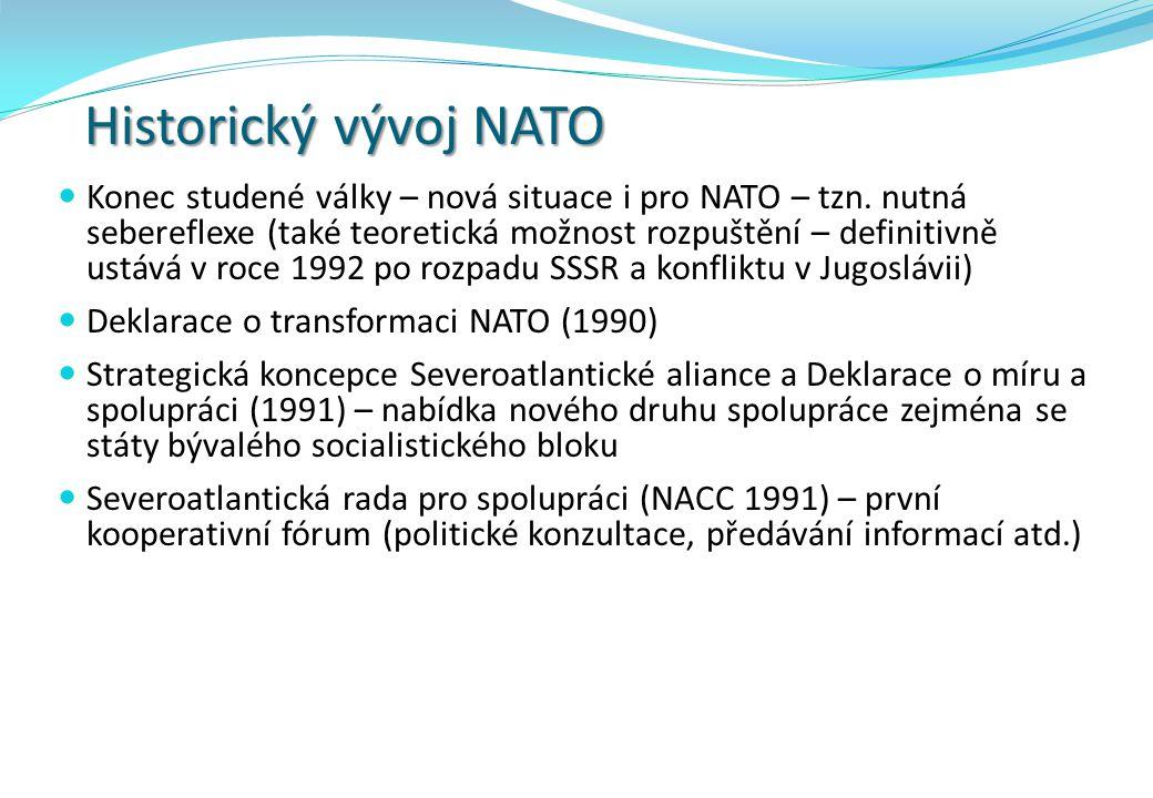 Historický vývoj NATO