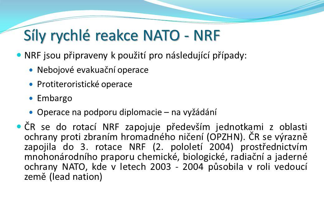 Síly rychlé reakce NATO - NRF