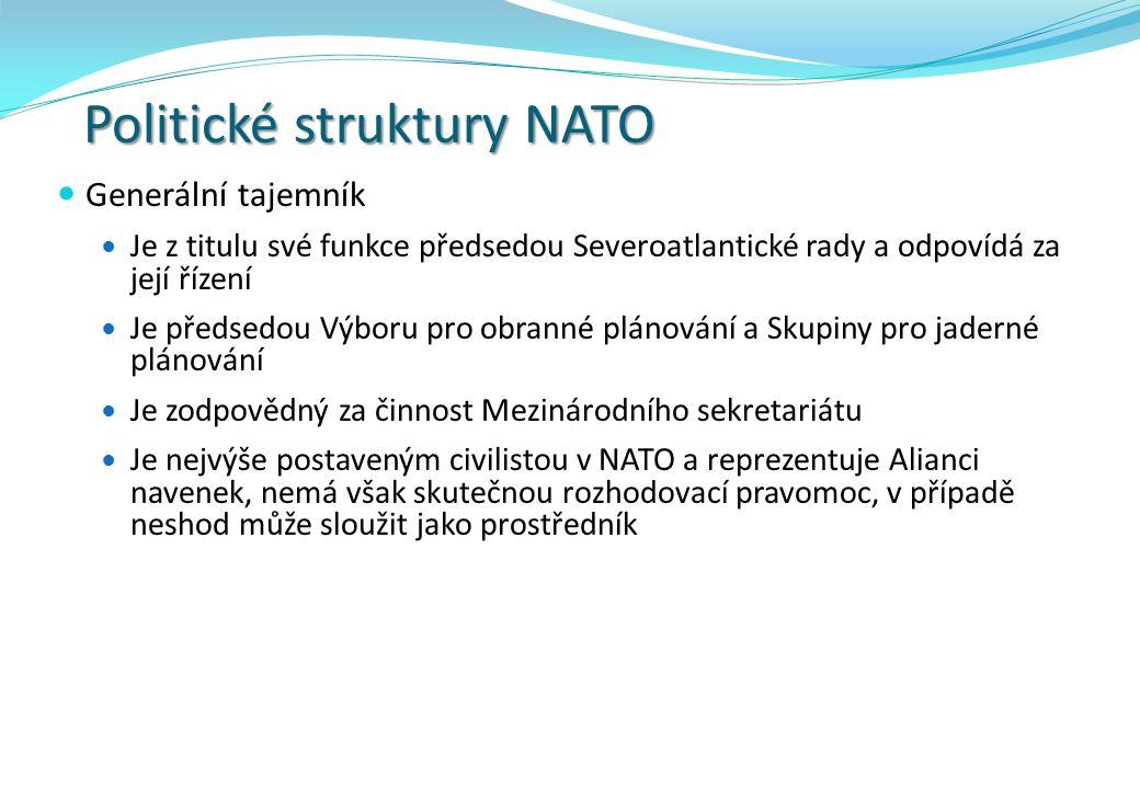 Politické struktury NATO