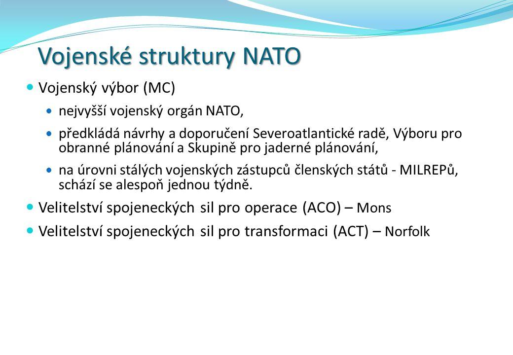 Vojenské struktury NATO