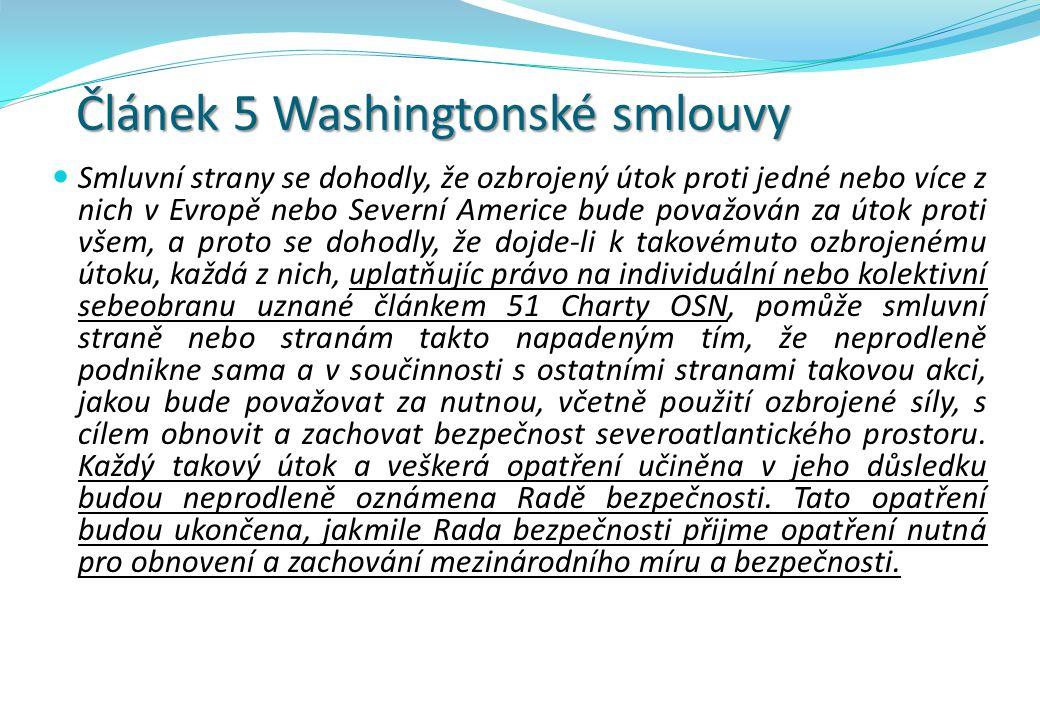 Článek 5 Washingtonské smlouvy