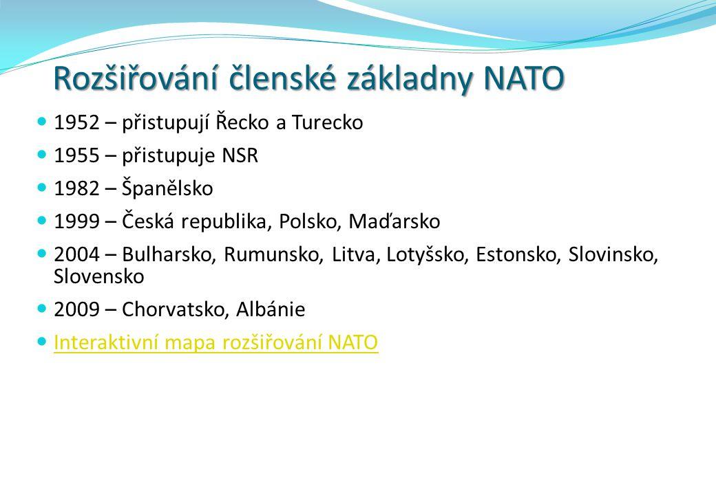 Rozšiřování členské základny NATO