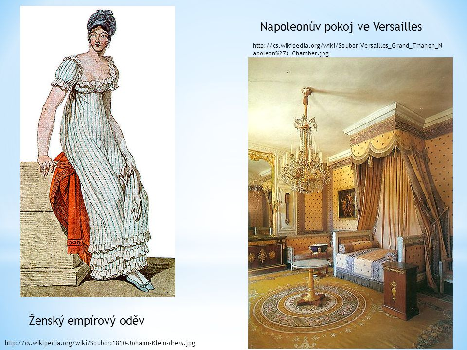 Napoleonův pokoj ve Versailles