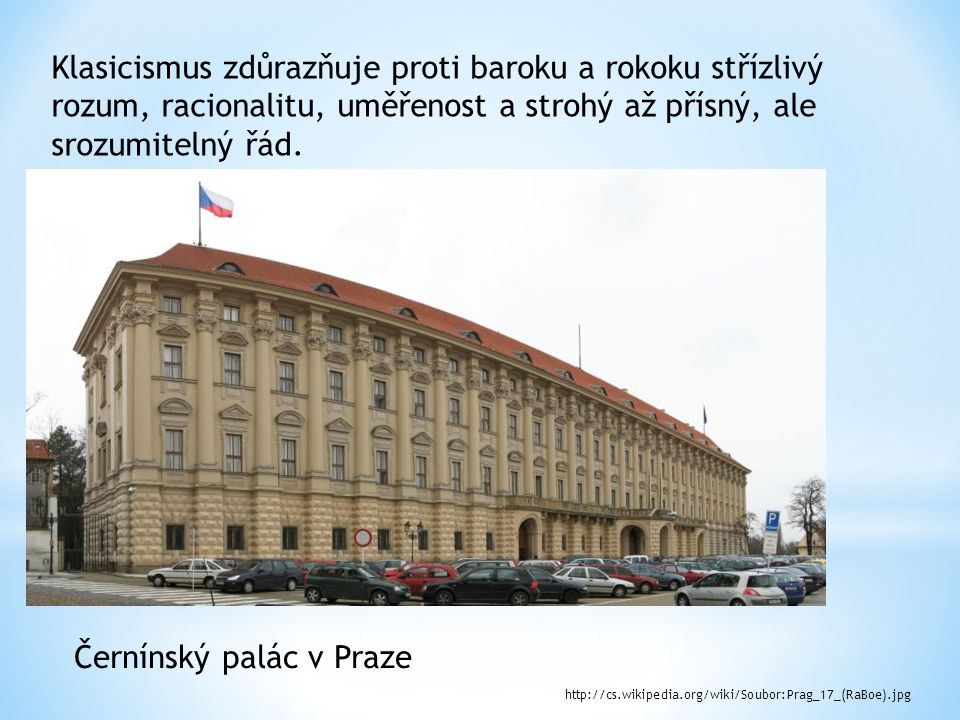 Černínský palác v Praze