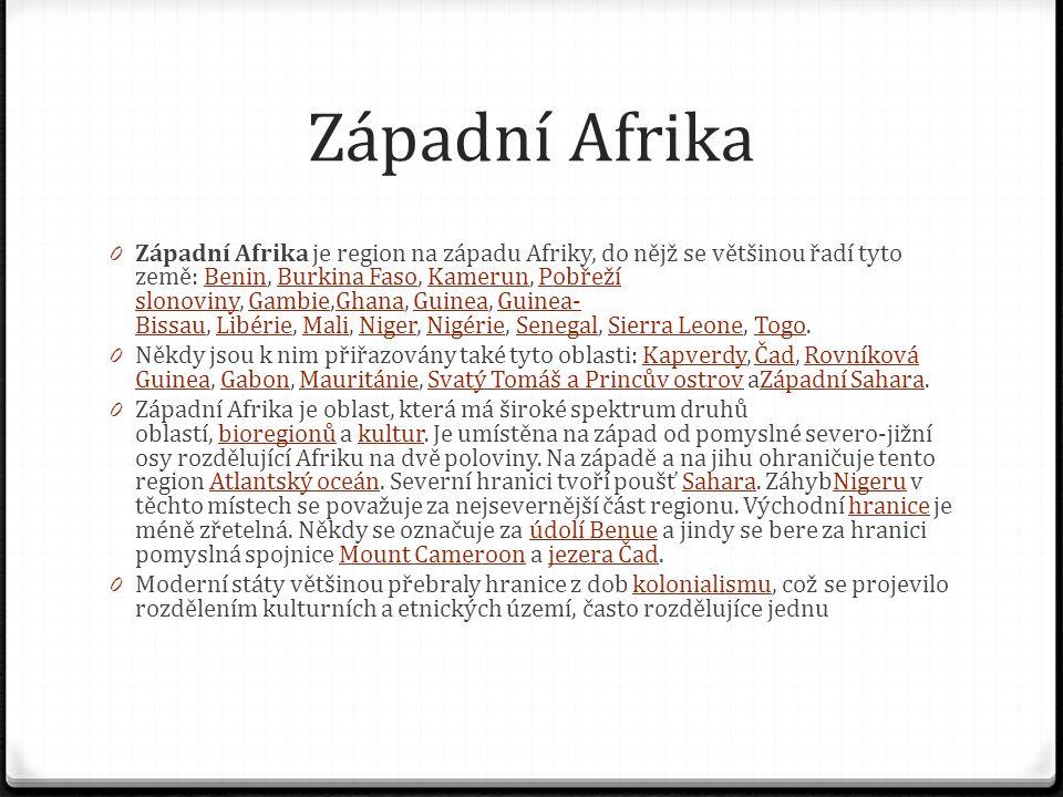 Západní Afrika