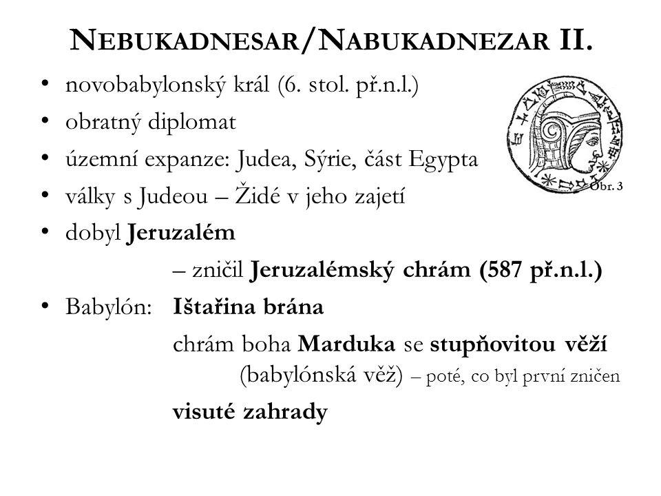 Nebukadnesar/Nabukadnezar II.