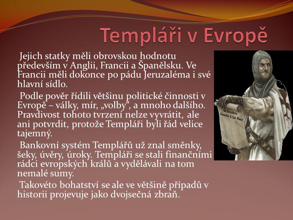 Templáři v Evropě