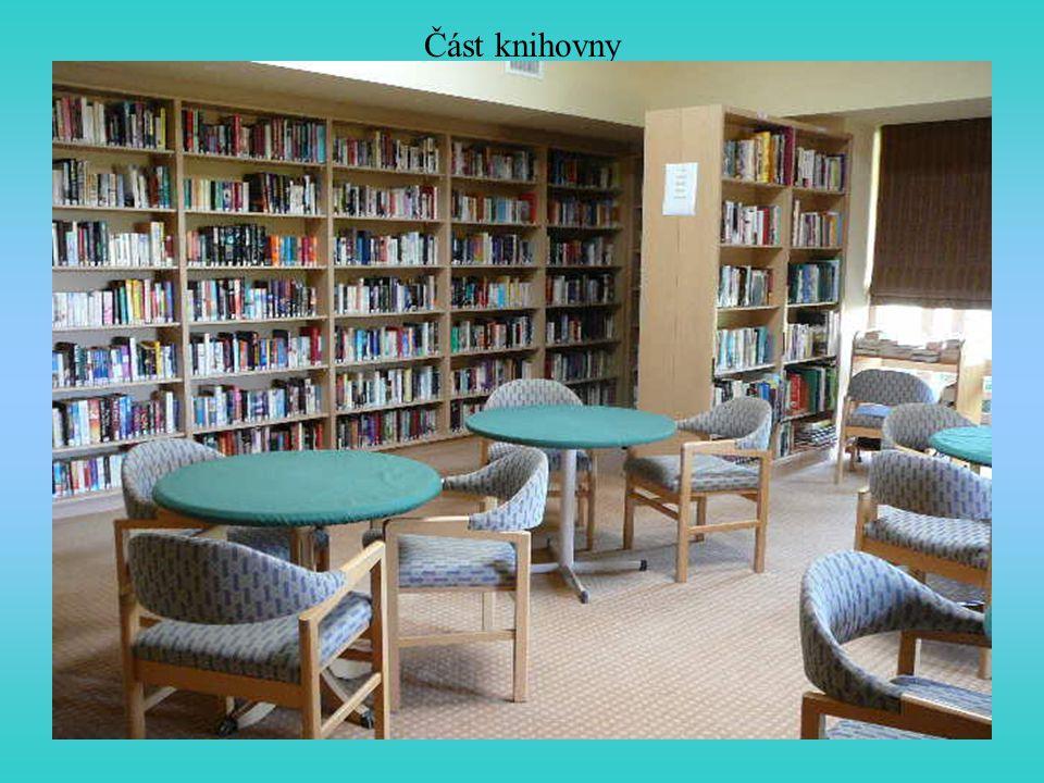 Část knihovny