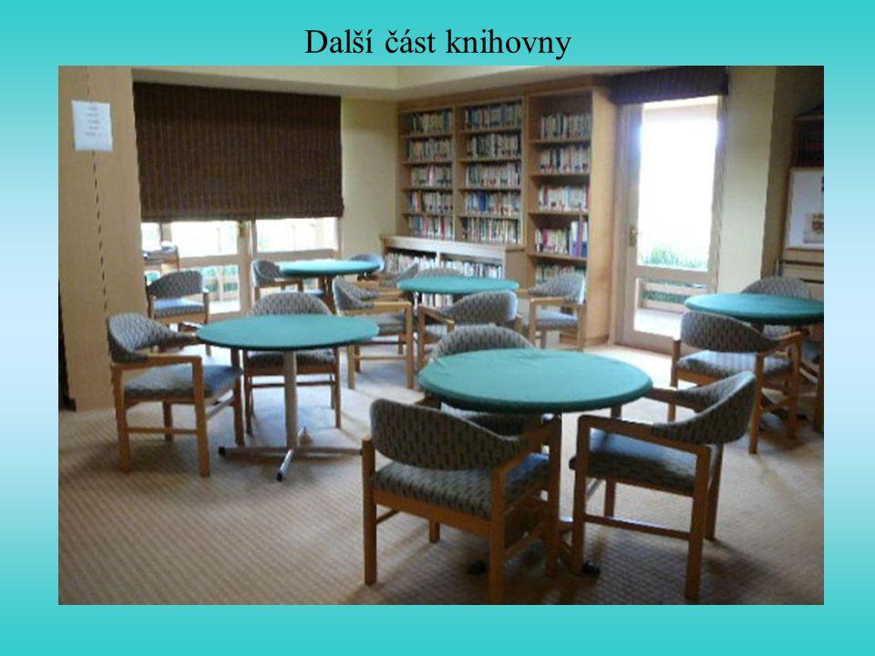 Další část knihovny