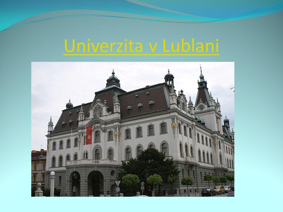 Univerzita v Lublani