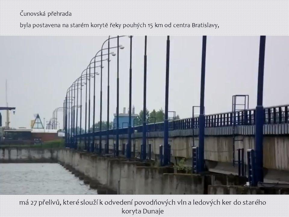 Čunovská přehrada byla postavena na starém korytě řeky pouhých 15 km od centra Bratislavy,