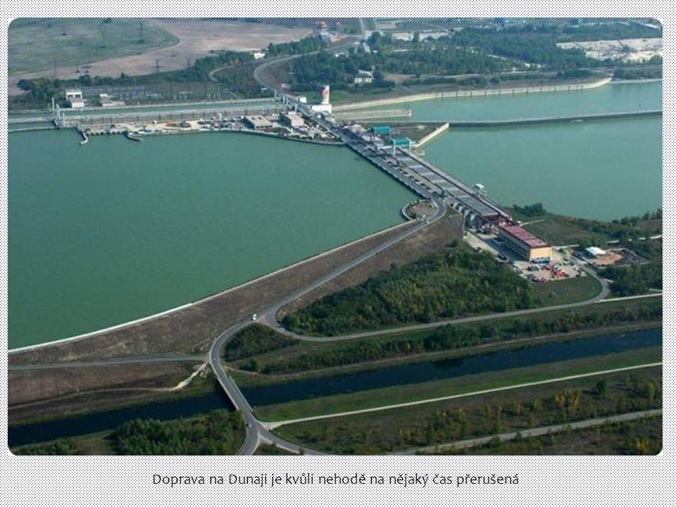 Doprava na Dunaji je kvůli nehodě na nějaký čas přerušená