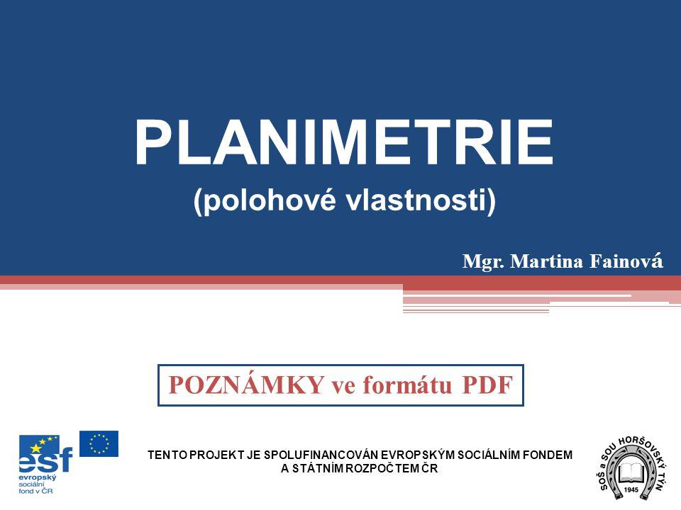 (polohové vlastnosti) POZNÁMKY ve formátu PDF